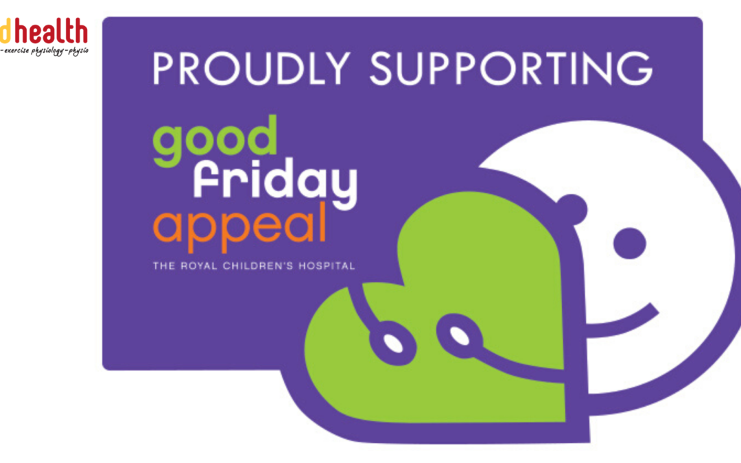 Supporting the Good Friday Appeal at MD Health